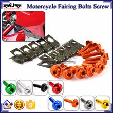 BJ-Screws-2003 CNC Streetbike Key Fairing Bolts Clips Fairing Kit Aluminum Nut and Bolt Motorcycle Fairing Screw