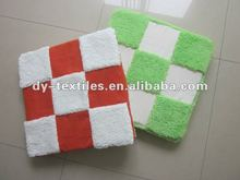 polyester sherpa patchwork Chair Pad/seat cushion