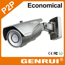 GENRUI 4X Motorized Zoom, QR Code Scanning Quick Setting, POE/WiFi/P2P, Full HD 1080P IP Security Camera