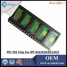 Factory direct ! For canon PFI-703 printer chip for canon IPF 815 825 ink cartridge
