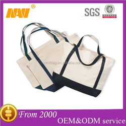 direct factory manufacture plain white cotton canvas tote bag
