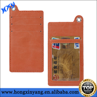 Real leather wallet case sleeve pouch for iPhone 6