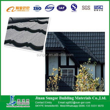 hot selling to Africa Aluminum Zinc Roofing Shingle/Colorful Sand Coated Steel Roofing\stone coated roof tile