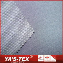 2015 Hot selling polyester stretch plain dyed diamond ribstop fabric