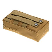 Tactical MOLLE PALS Modular Waist Bag Pouch Utility Pouch Magazine Pouch Mag Accessory Medic Tool Bag Pack