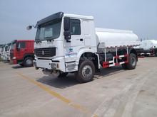 China Famous Brand 6x4 371HP 18000L OIL fuel tank truck
