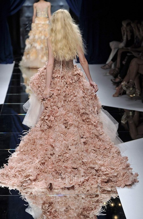 Zuhair Murad Pink Wedding Dress Price 12