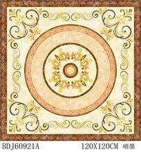 2015FOSHAN New item hotel lobby tiles,Center flower flooring tile