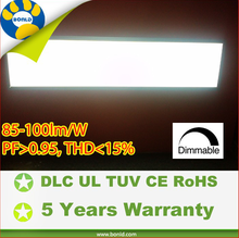 ul dlc approved 40w cw 1*4 led panel uniform designs for office