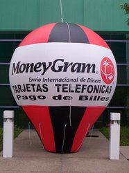 inflatable money gram ground balloon,inflatable advertising ground balloon for sale