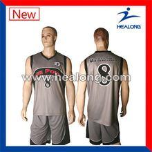 Healong Digital Print Hot Sale College Basketball Jerseys