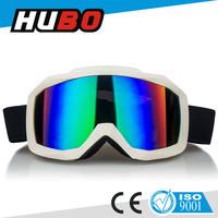 2015 fashion dual lens sports eyewear top design anti fog ski goggle for unisex