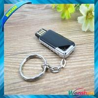 wholesale promotion gift swivel usb flash drive, free logo plastic mini pormo usb pen drivers
