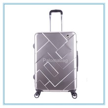 2015 Plastic Hard Shell ABS PC Luggage Bags Cases