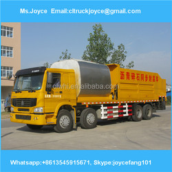 Faw 8cbm Asphalt And 12cbm Gravel Synchronous Seal,8000l Bitumen Spraye R Truck Capacity