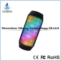Wholesale factory direct cheap LED speaker wireless stereo bluetooth speaker for mobile phone iPad computer
