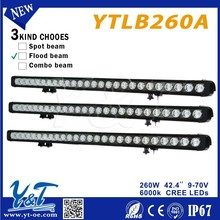 Y&T Work Truck SUV ATV Boat Car Lamp Light Bar for automotive led off road driving lights bars