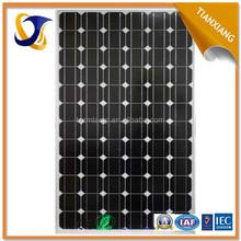 2015 new design golden factory supplier China waterproof price per watt monocrystalline silicon solar panel