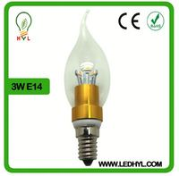 Chandeliers Light Decorative 500 lumen led bulb light led candel bulb bent-tip