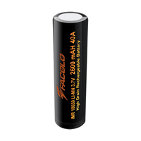On Sale Facolo imr 18650 battery 3100mah Facolo high drain 18650 40a battery Facolo 18650 2600mah 40a battery pack