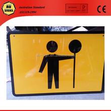 Australia standard traffic controller signs