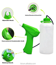 iLOT rechargeable electric airless paint sprayer for fence and wooden painting