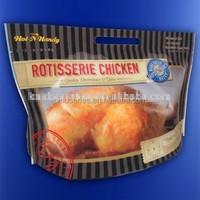 plastic rotisserie chicken packaging bag
