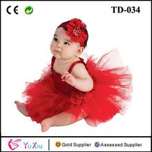 joaninha vestido tutu para crianças pequenas