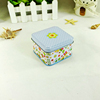 Top grade factory price square candy tin container