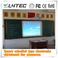 Einfügen eingebettet art elektronische whiteboard für den unterricht, elektronische whiteboard für kinder