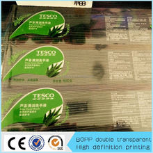 Factory transparent backboard sticker made in China ablibaba
