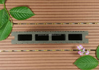 wpc composite wooden slats for bench outdoor