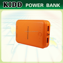New design coming actual capacity 10400mAh power bank with LED display 1A AND 2.1A USB output.