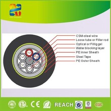 Made in China high quality outdoor used fiber optic cable GYTY53 6 core cable fiber optic with competitive price