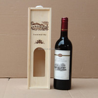 Excellent wood gift boxes for single wine bottle
