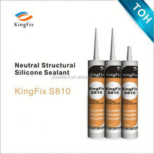neutral applied to building construction silicone sealant