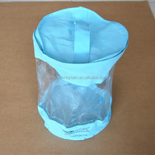 Custom design non-woven bags pvc bags with handle