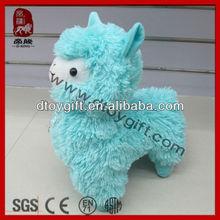 2015 mascot sheep new product birthday gifts cute blue sheep plush alpaca animal sheep stuffed alpaca toys soft toy lamb