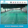 PVC badminton sports flooring for sale