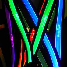 Super bright led flashing lanyards glowing led lanyard lighted nylon lanyard