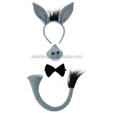 eeyore christmas party Gray donkey headband QHBD-1772