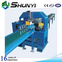 Easy operation machine type/manual stretch film wrapper