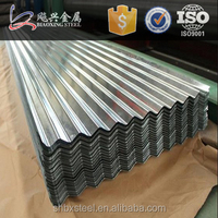 Prefab Homes Galvanized Corrugated Sheet Metal Roofing Price