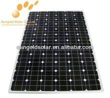 Las células solares chinas de 230w de monocristal de silicio y kit de paneles solares