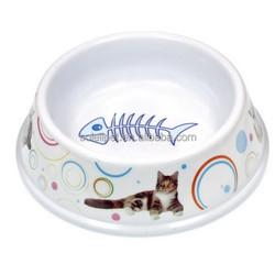 Wholesale Durable Melamine Cat Food Feeder Cat Bowl