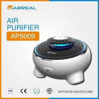 2015 new released in desktop air purifier plasma ionizer car air cleaner