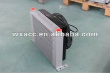 alluminum hydraulic fan oil cooler