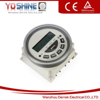 16A 12V-220V 24 Hours /7 Days Weekly Digital Timer Switch of programmable digital time switch