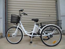"""24"""" 250W36V electric tricycle bike cargo trike/e trike/three wheel electric motor bike"""