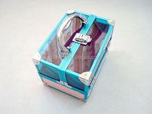 Fashion Brands silver makeup box